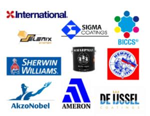 Logo's van verschillende bedrijven
